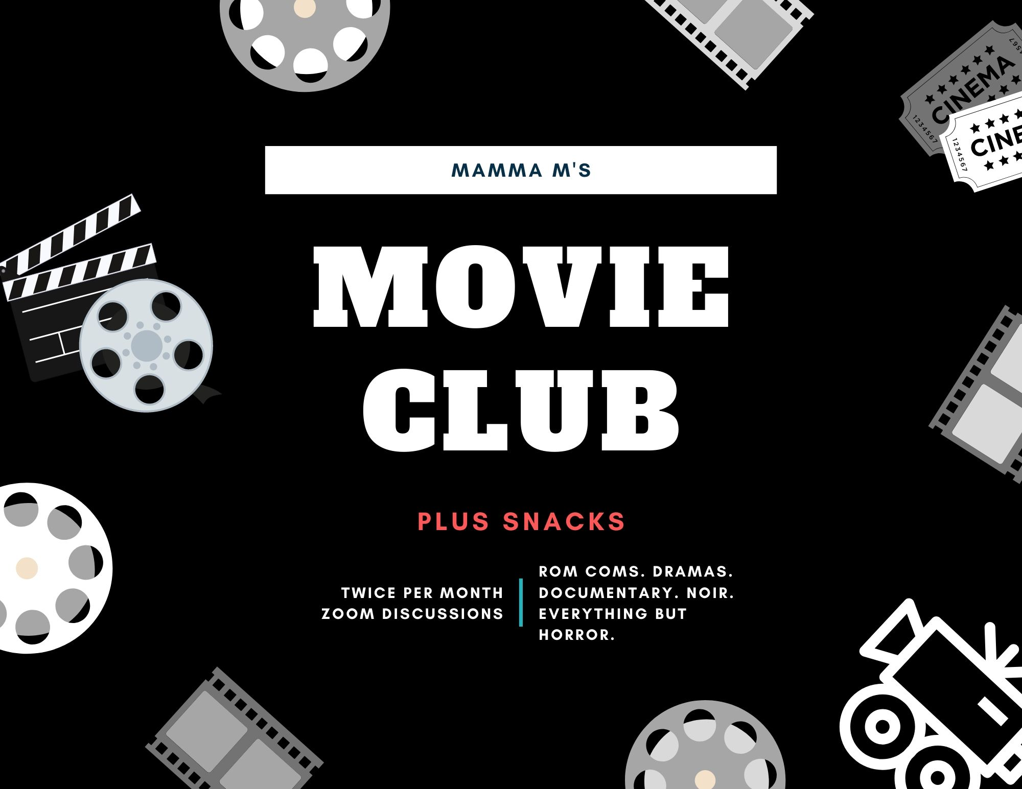 Mamma M's Movie Club